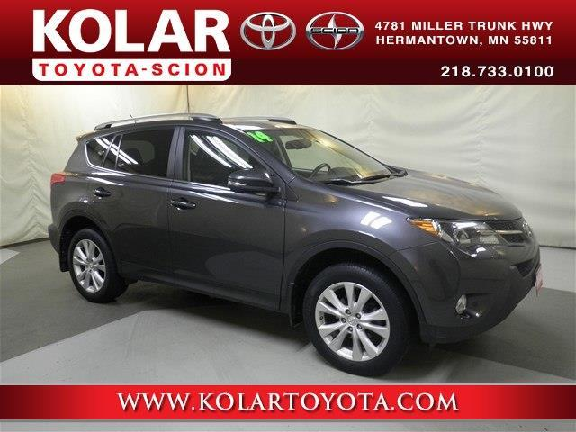 Kolar Toyota Duluth Minnesota >> 2014 Toyota RAV4 Limited AWD Limited 4dr SUV for Sale in ...