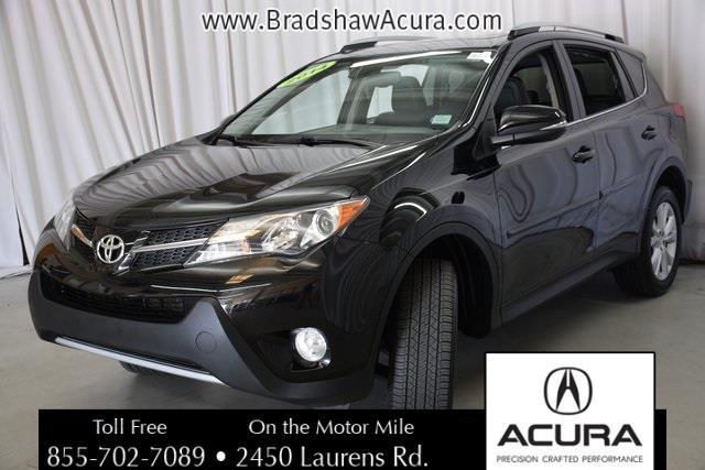 2014 Toyota RAV4 Limited Limited 4dr SUV