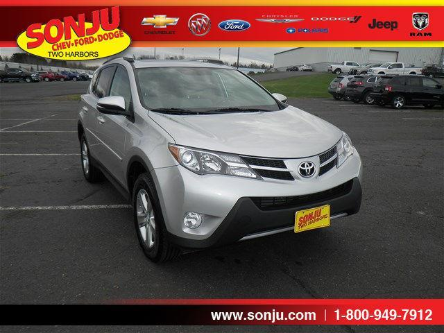 2014 toyota rav4 xle awd xle 4dr suv for sale in two harbors minnesota classified. Black Bedroom Furniture Sets. Home Design Ideas