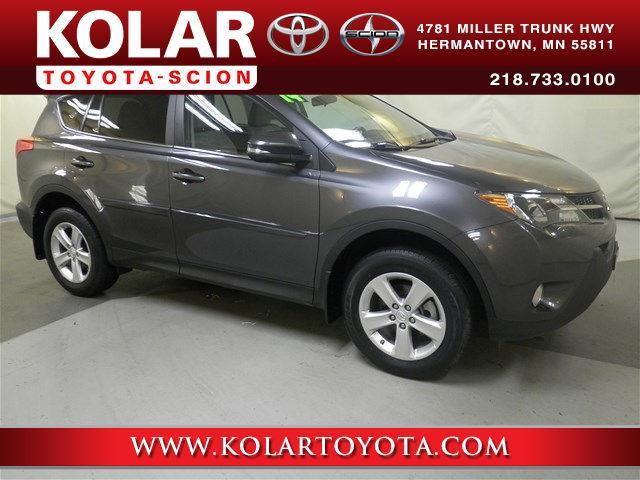 2014 toyota rav4 xle awd xle 4dr suv for sale in duluth minnesota classified. Black Bedroom Furniture Sets. Home Design Ideas