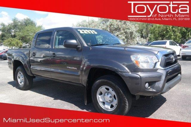 2014 toyota tacoma prerunner v6 4x2 prerunner v6 4dr double cab 5 0 ft sb 5a for sale in miami. Black Bedroom Furniture Sets. Home Design Ideas