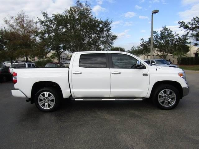 2014 toyota tundra 1794 4x2 1794 4dr crewmax cab pickup sb 5 7l v8 for sale in naples florida. Black Bedroom Furniture Sets. Home Design Ideas
