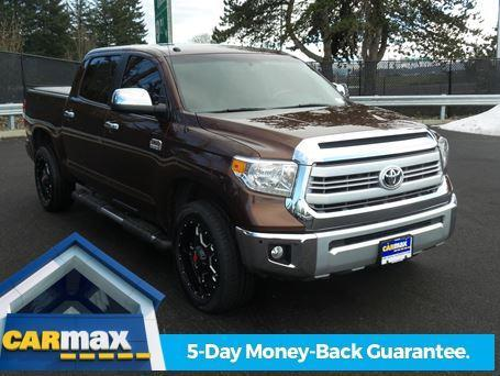 2014 toyota tundra 1794 4x4 1794 4dr crewmax cab pickup sb 5 7l v8 for sale in portland. Black Bedroom Furniture Sets. Home Design Ideas