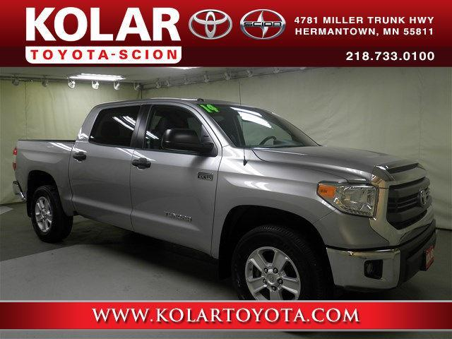 2014 toyota tundra sr5 4x4 sr5 4dr crewmax cab pickup sb 5 7l v8 ffv for sale in duluth. Black Bedroom Furniture Sets. Home Design Ideas