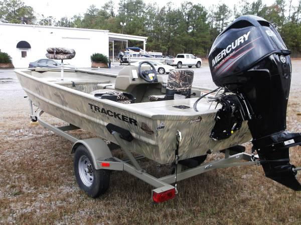 2014 Tracker 1754 Grizzly, Mercury 60 4stroke for Sale in