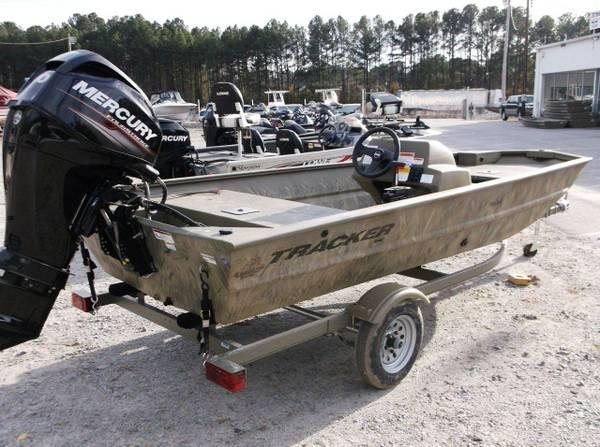 2014 tracker grizzly 1648sc mercury 40 four stroke for for Boat motors for sale in sc