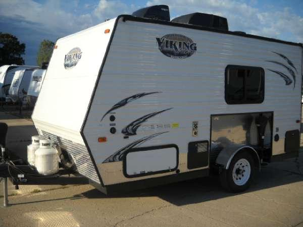 2014 viking rvs viking ice 15 fish house camper for sale for Fish house trailer