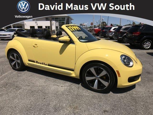 2014 volkswagen beetle 1 8t pzev 1 8t pzev 2dr convertible for sale in orlando florida. Black Bedroom Furniture Sets. Home Design Ideas