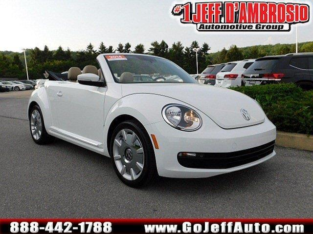2014 volkswagen beetle 1 8t pzev 1 8t pzev 2dr convertible for sale in downingtown pennsylvania. Black Bedroom Furniture Sets. Home Design Ideas