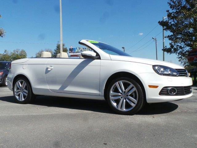 2014 volkswagen eos executive sulev executive sulev 2dr convertible for sale in ocala florida. Black Bedroom Furniture Sets. Home Design Ideas