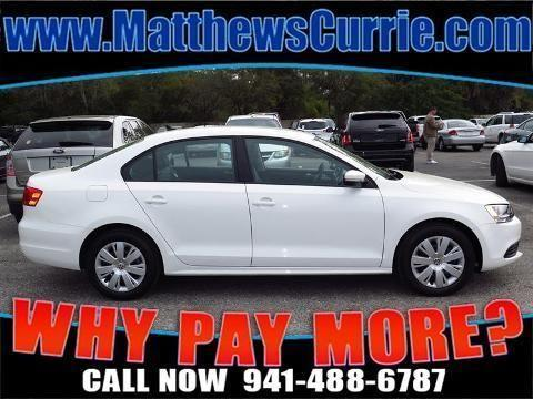2014 VOLKSWAGEN JETTA 4 DOOR SEDAN