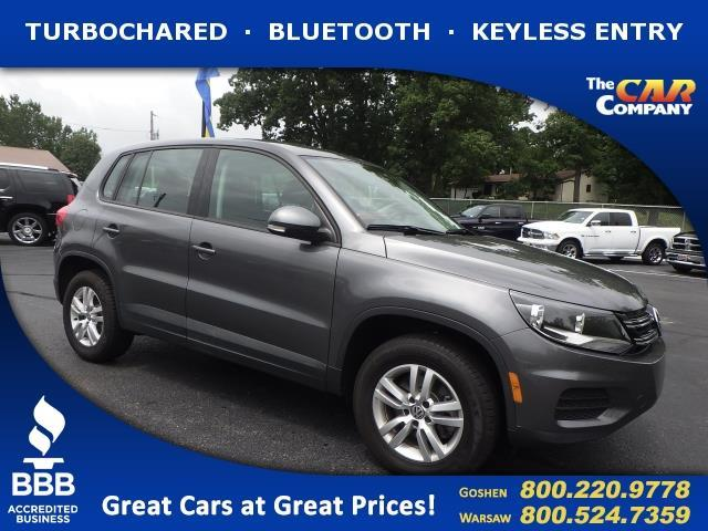 2014 volkswagen tiguan s s 4dr suv 6a for sale in warsaw indiana classified. Black Bedroom Furniture Sets. Home Design Ideas