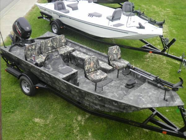 2014 War Eagle 860LDBR SC with Suzuki 90hp 4 Stroke