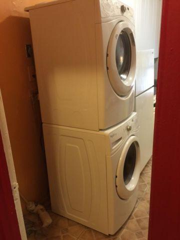 2014 Whirlpool Duet Front loading Washer and Dryer - $865 Highbridge
