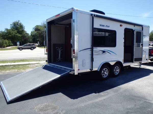 2014 Work And Play 18 Ec Toy Hauler For Sale In Daytona