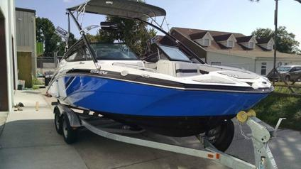 2014 yamaha 212x sport boat low hours galv trailer and for Yamaha 212x review