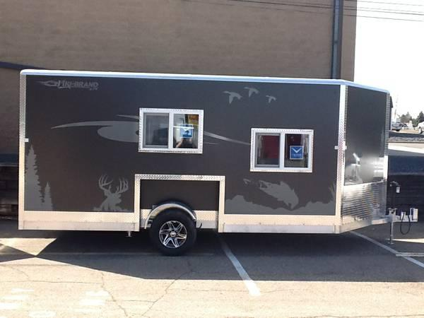 2015 8 X16 Firebrand Ice House Shell For Sale In Savage