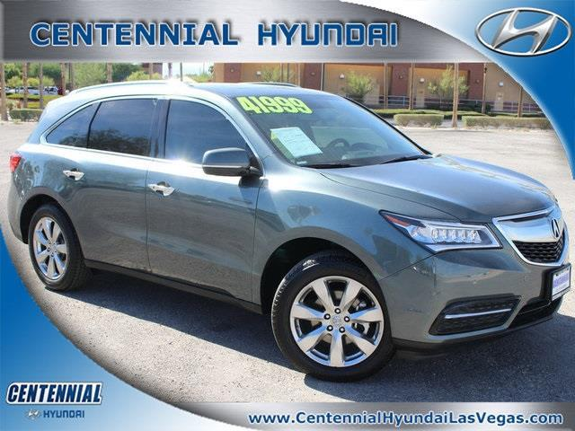 2015 Acura MDX SH-AWD w/Advance w/RES SH-AWD 4dr SUV