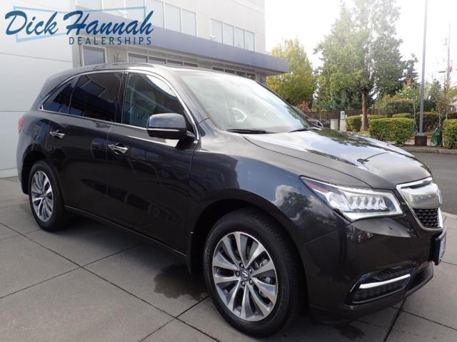 2015 acura mdx sh awd w tech sh awd 4dr suv w technology package for sale in portland oregon. Black Bedroom Furniture Sets. Home Design Ideas