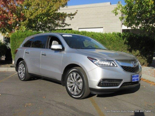 2015 acura mdx sh awd w tech sh awd 4dr suv w technology package for sale in boise idaho. Black Bedroom Furniture Sets. Home Design Ideas