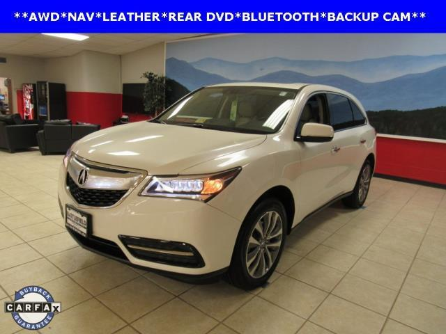 2015 acura mdx sh awd w tech sh awd 4dr suv w technology package for sale in manassas virginia. Black Bedroom Furniture Sets. Home Design Ideas