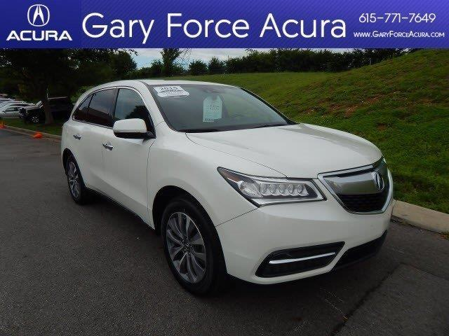 2015 acura mdx sh awd w tech sh awd 4dr suv w technology package for sale in brentwood. Black Bedroom Furniture Sets. Home Design Ideas