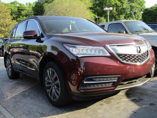 2015 acura mdx w tech 4dr suv w technology package for sale in ocala florida classified. Black Bedroom Furniture Sets. Home Design Ideas