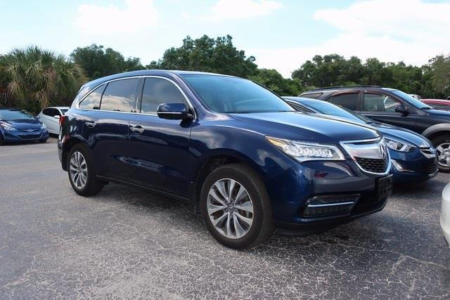 2015 acura mdx w tech 4dr suv w technology package for sale in new port richey florida. Black Bedroom Furniture Sets. Home Design Ideas