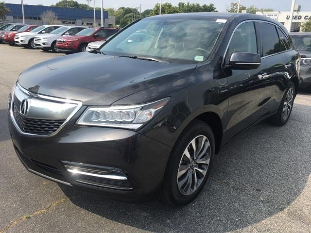 2015 acura mdx w tech 4dr suv w technology package for sale in greenville south carolina. Black Bedroom Furniture Sets. Home Design Ideas