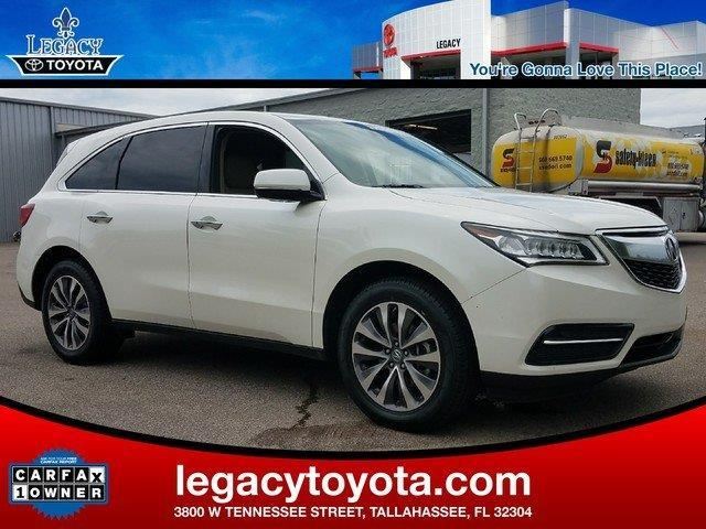 2015 acura mdx w tech 4dr suv w technology package for sale in tallahassee florida classified. Black Bedroom Furniture Sets. Home Design Ideas