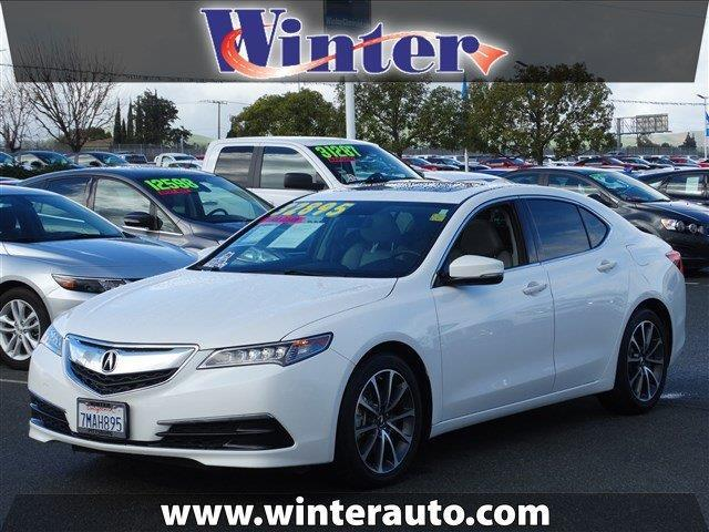 2015 acura tlx v6 w tech v6 4dr sedan w technology package for sale in bay point california. Black Bedroom Furniture Sets. Home Design Ideas