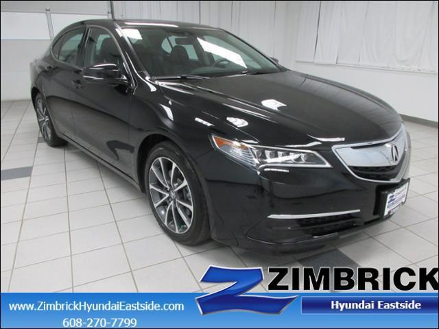 2015 acura tlx v6 w tech v6 4dr sedan w technology package for sale in madison wisconsin. Black Bedroom Furniture Sets. Home Design Ideas