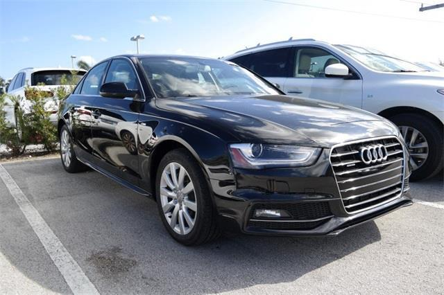 Carfax Com Dealer Login >> 2015 Audi A4 2.0T quattro Premium AWD 2.0T quattro Premium 4dr Sedan 8A for Sale in Stuart ...