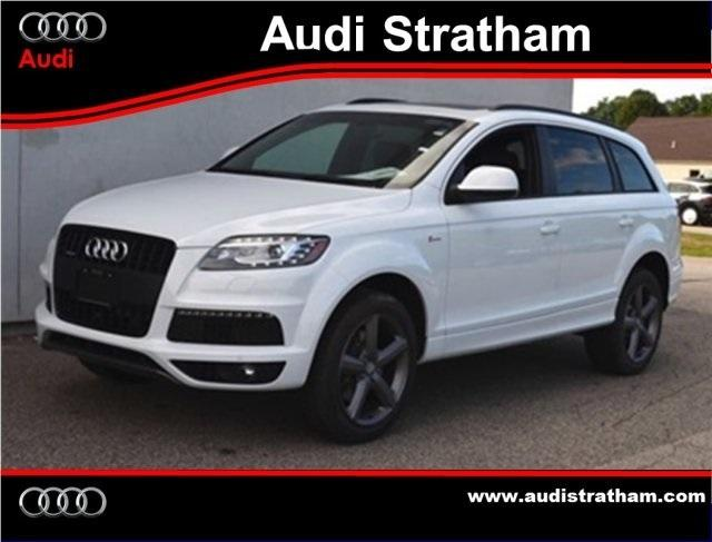 2015 Audi Q7 3 0t S Line Prestige Quattro For Sale In