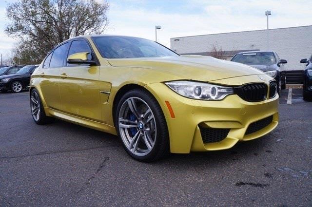 2015 BMW M3 Base 4dr Sedan