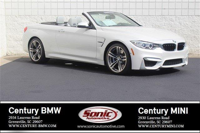 2015 BMW M4 Base 2dr Convertible