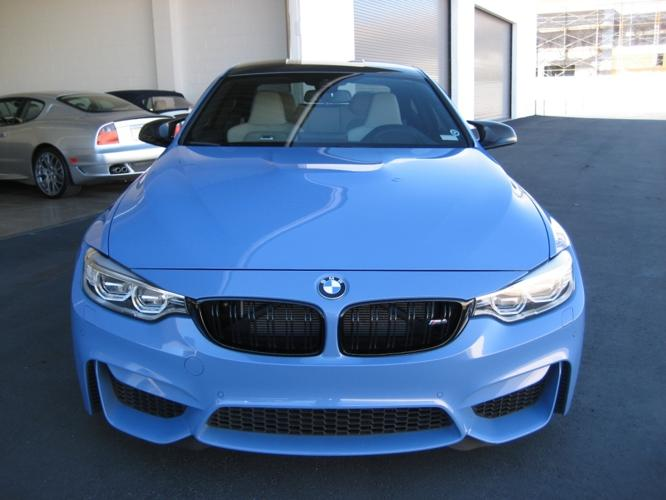 2015 Bmw M4 Yas Marina Blue Carbon Roof Low Miles For Sale In