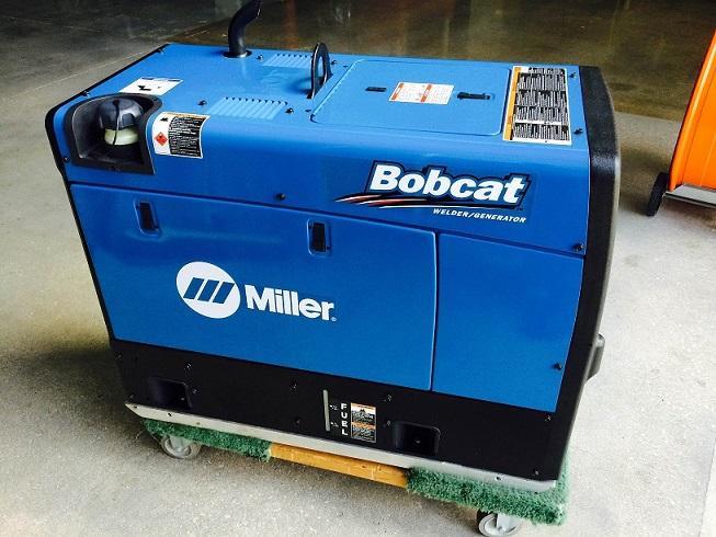2015 Bobcat Miller 250 EFI welder generator