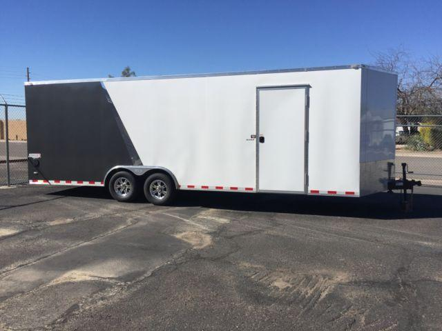 2015 Bravo Enclosed Car Hauler Trailer