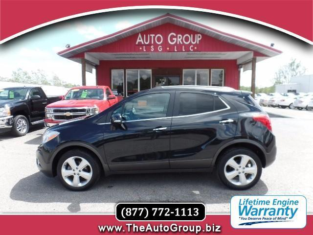 2015 buick encore leather awd leather 4dr crossover for sale in mount pleasant michigan. Black Bedroom Furniture Sets. Home Design Ideas