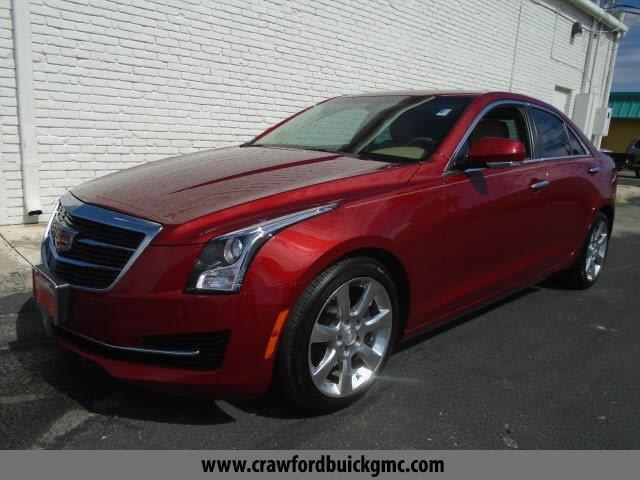 2015 Cadillac ATS 2.0T Luxury 2.0T Luxury 4dr Sedan