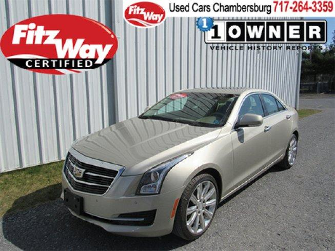 2015 Cadillac Ats 2.0T Luxury AWD Sedan