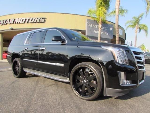 2015 Cadillac Escalade ESV Luxury Luxury 4dr SUV
