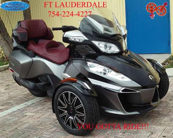 2015 can am spyder rt s special series se6 for sale in miami florida classified. Black Bedroom Furniture Sets. Home Design Ideas