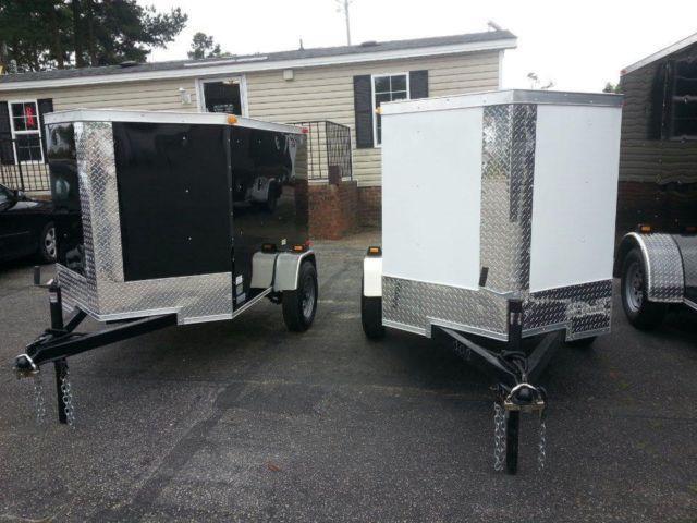2015 Carolina Cargo 4x6 Enclosed Cargo Trailer For Sale In