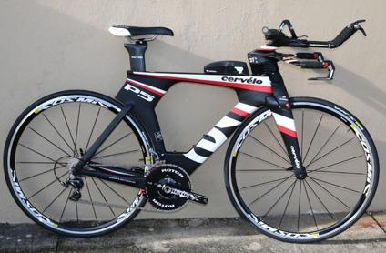 2015 Cervelo P5 Six Dura Ace Triathlon Tt Carbon Fiber