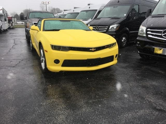 2015 Chevrolet Camaro Lt Lt 2dr Convertible W 2lt For Sale