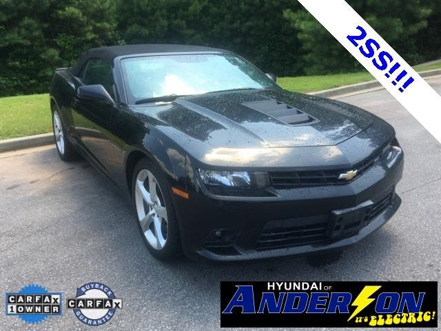 2015 chevrolet camaro ss ss 2dr convertible w 2ss for sale in anderson south carolina. Black Bedroom Furniture Sets. Home Design Ideas