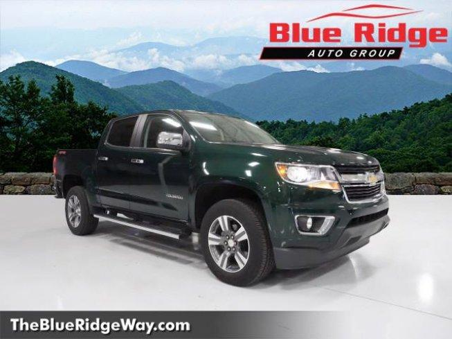 2015 Chevrolet Colorado 4x4 Crew Cab LT