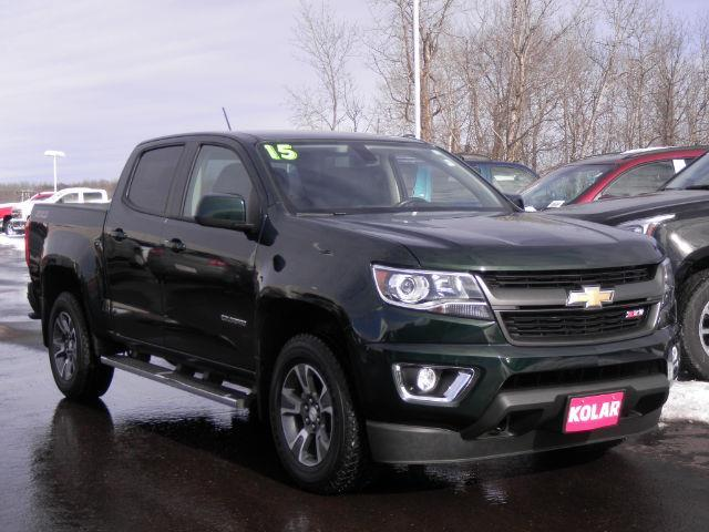 2015 chevrolet colorado z71 4x4 z71 4dr crew cab 5 ft sb for sale in duluth minnesota. Black Bedroom Furniture Sets. Home Design Ideas